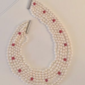 Jewelry - Freshwater Cultured Pearl 7 Strand Necklace